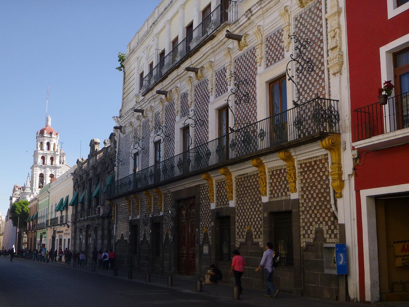 mexico puebla street