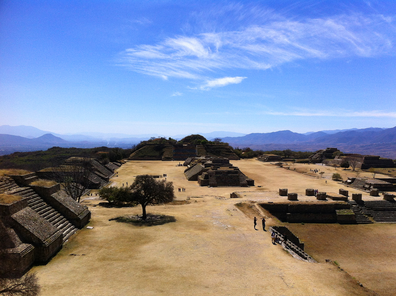 monte alban panorama