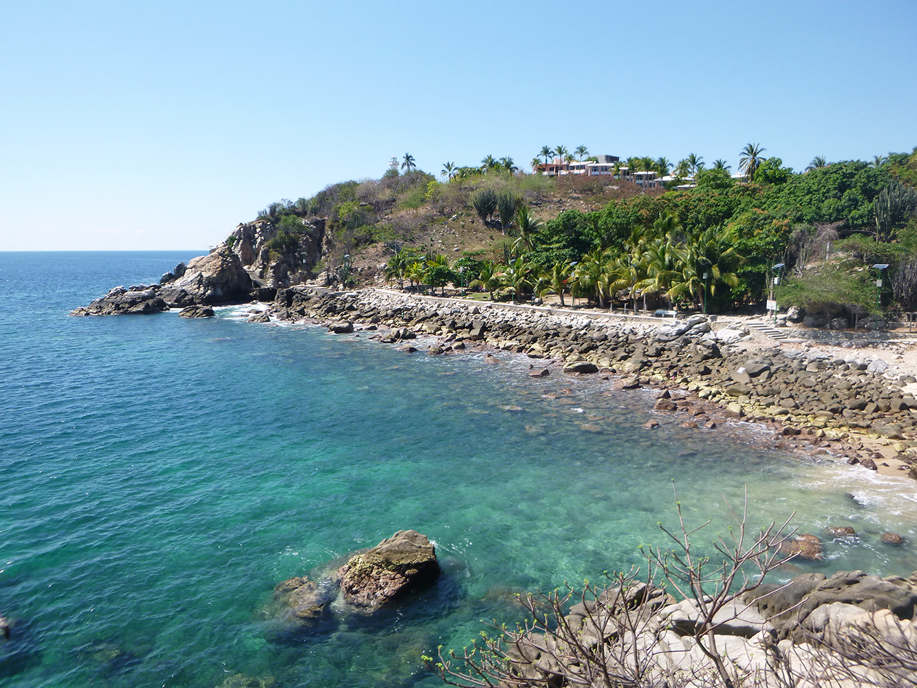 puerto escondido beach