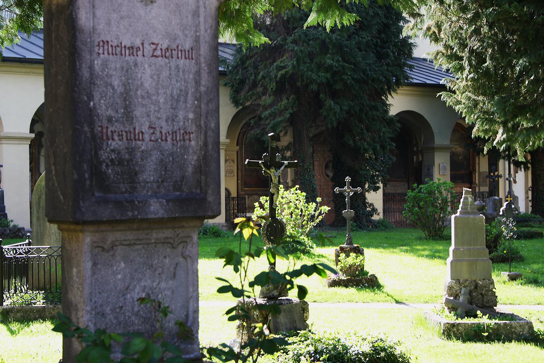 salzburg st.sebastian friedhof
