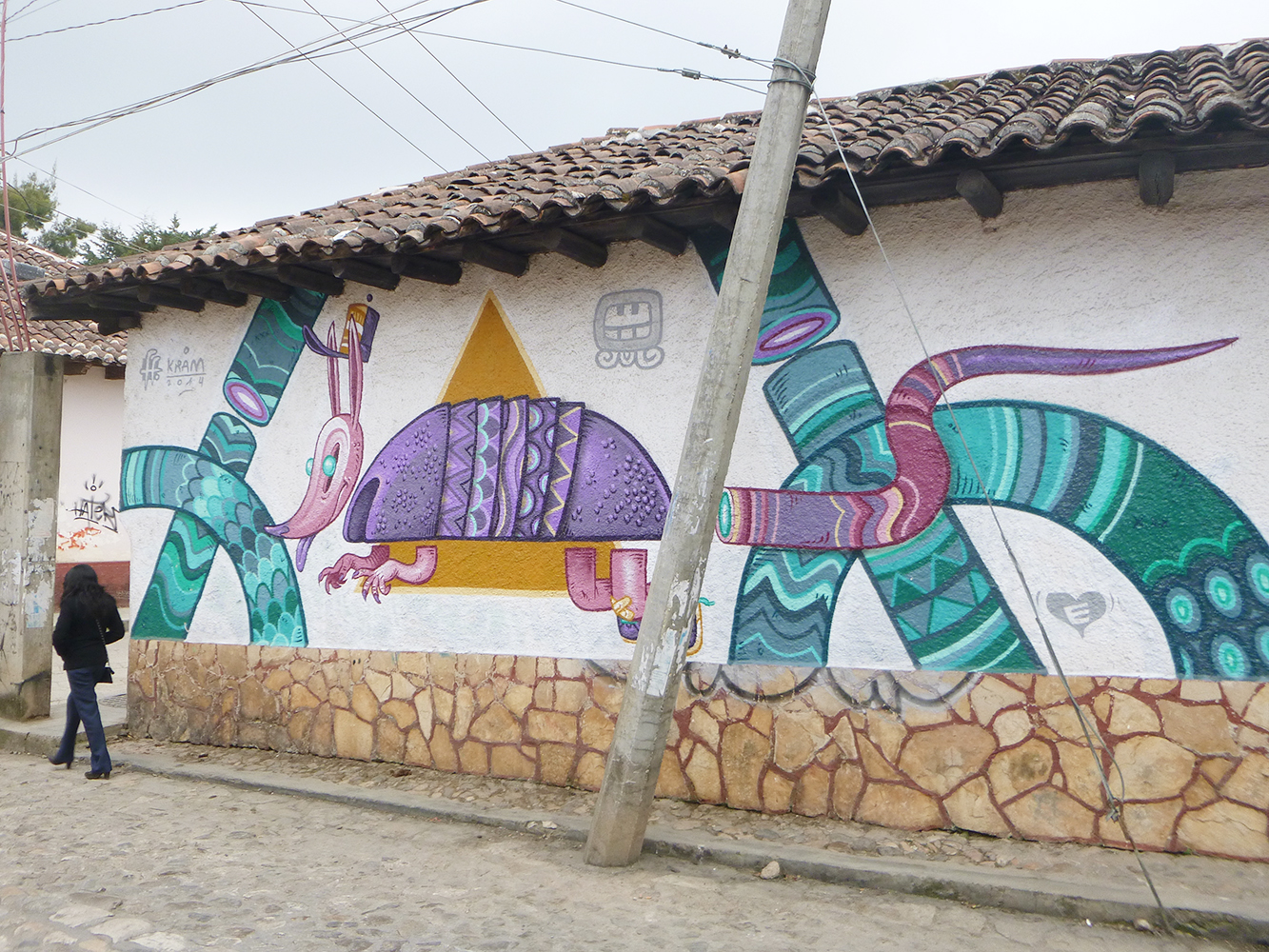 san cristobal de las casas grafitty