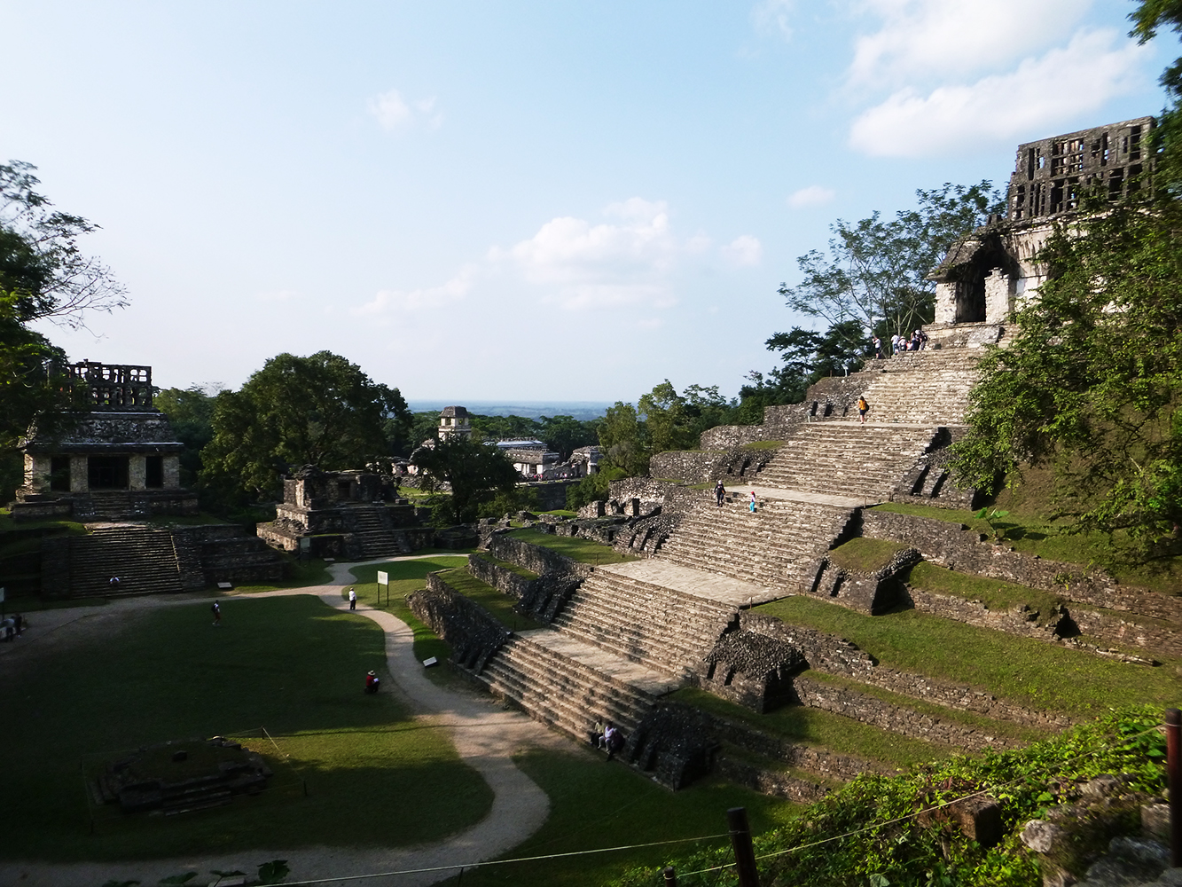 backpacking palenque maya temles