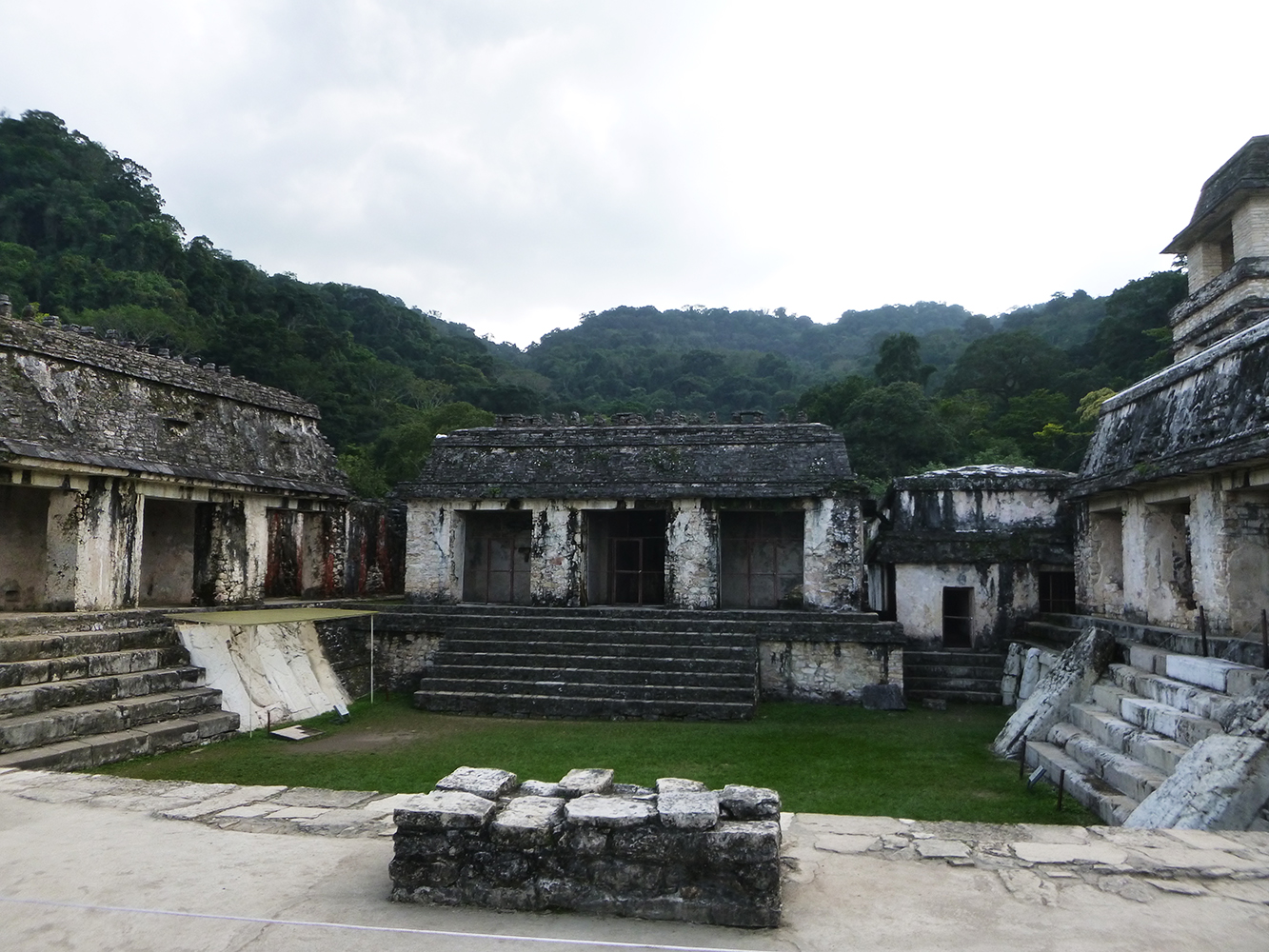 backpacking palenque ruinen