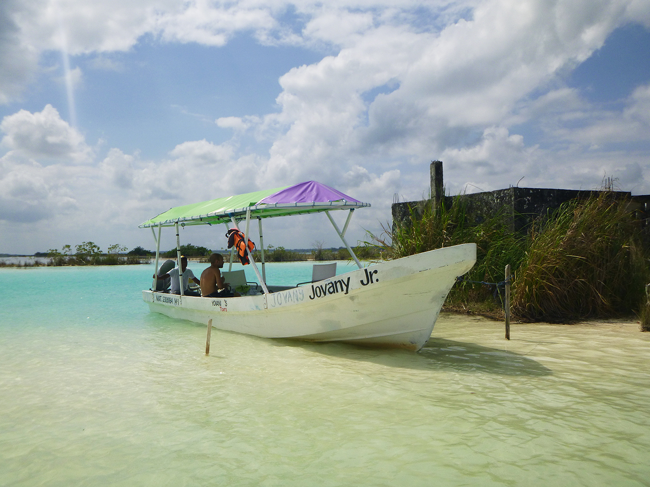 mexico bacalar water