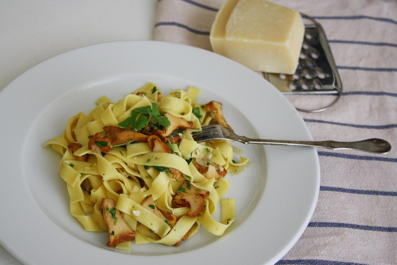 recipe pasta eierschwammerl