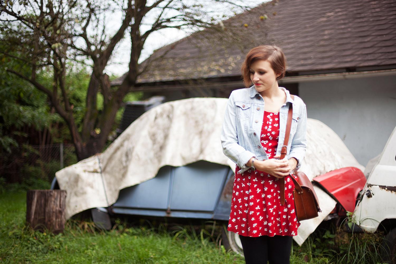 outfit-vintage-kleid-auto