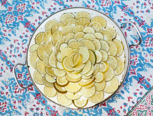 Caipirinha Limetten Torte