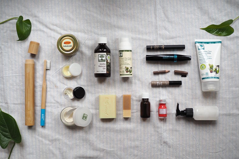 Naturkosmetik fürs Handgepäck